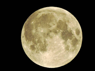 Supermoon by Agatje