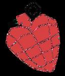 Transparent Heart hand grenade by GdeeeeLovr96