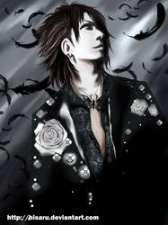 .Black.The feather. by hisaru