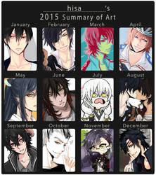 2015 summary of art by hisaru