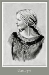 Eowyn, lady of Rohan by sirideain