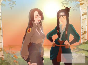Art Trade - Naruto OC by WitchyNade