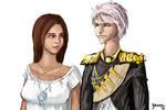Abby x Prussia. by kuoke