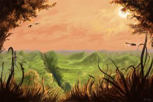 O'er Fields. by kuoke