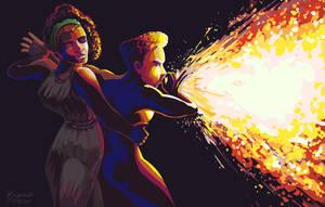 170120 Firebreathers by kuoke
