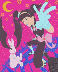 181113 1722 Star Lit Magic Witch by kuoke