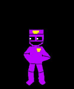 Adventure Purple Man (My Oc) by Purpleman88