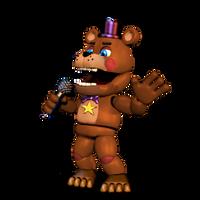 Adventure Rockstar Freddy by Purpleman88