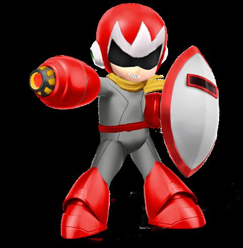 Protoman(Super Smash Bros Ultimate Edit) by Purpleman88