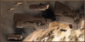 Fleet Action1 by Ferres