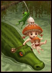 The Mushroom Orphans 9 by Ferres