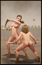 Gladiatrix Duel by Ferres