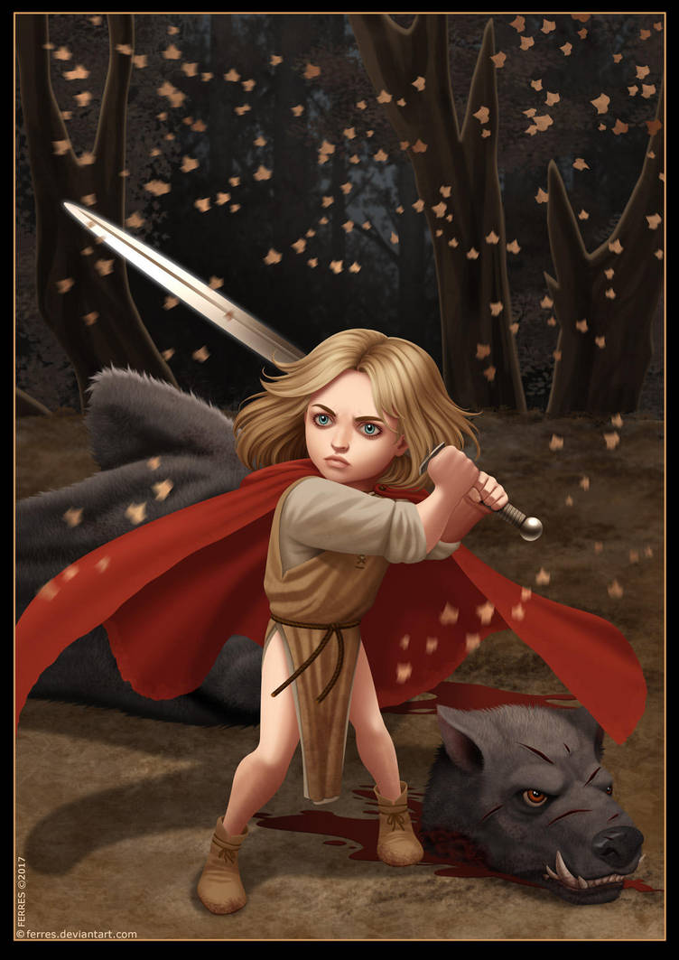 Little Red Leveling Up by Ferres