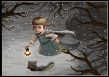 Winter Girl by Ferres