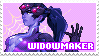 widowmaker stamp by sorrystamps