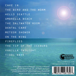 My 'Ocean Eyes' design - Back Cover by MysticSena