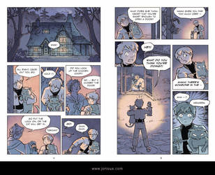 Cat's Cradle: The Golden Twine pages 4-5 by jorioux