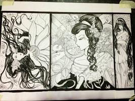 Geisha Dream by littlemissmarikit