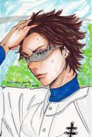 Daiya no Ace: Miyuki Kazuya : Summer Heat by littlemissmarikit