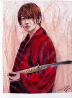 Kenshin Himura: Kyoto Inferno Version by littlemissmarikit