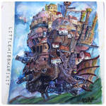 Howl's Moving Castle by littlemissmarikit