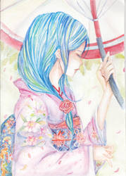 Ao Natsu ( Blue Summer) by littlemissmarikit