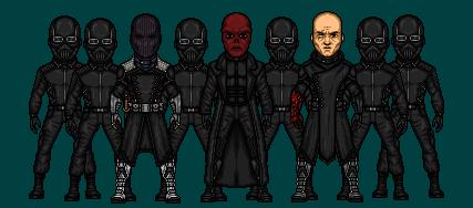 HYDRA Zemo, Red Skull, Strucker by DeadStreak