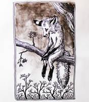 Loneliness of the Fox by KitsuneBara
