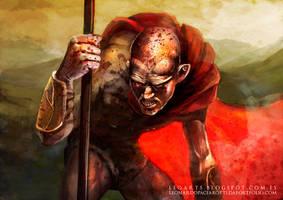 La traicion de Efialtes Ephialtes 300 by le0arts