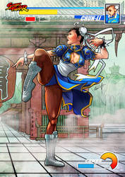 Chunli Capcom Street Fighter by le0arts