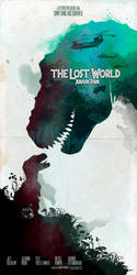 The Lost World Jurassic Park movie poster inspired by le0arts