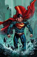 Man of Steel, Superman. Dc Comics. Colors v.1 by le0arts