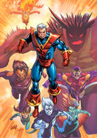 The Futurians Marvel colors by le0arts