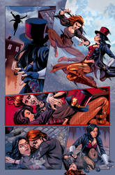 Van Helsing vs. Robyn Hood #1 (color) ZENESCOPE by le0arts