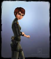 Captain Holly Short by preston2694
