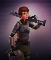 Holly Short-5 (Armor) by preston2694