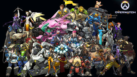 Overwatch wallpaper by Sinistha