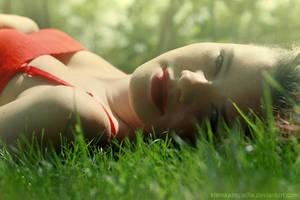 in grass by klamkazapadla