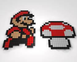 8_Bit_Mario by Rogervd