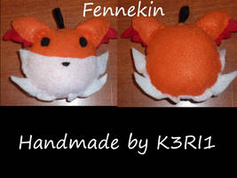 CO: Fennekin Head Plush by K3RI1