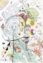 Psychedelic Jodie by dante-kimachi
