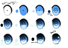 Anime eye tutorial (paint tool sai) by Yumicia-chan