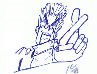 Vash The Stampede by OmegaPyro