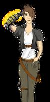 Treasure Planet OC: Carina Linnea by KaitlyNicole
