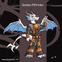 Gordon PSYman by Psydrache