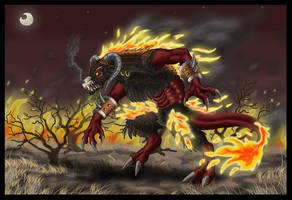 Feuerbiest by Psydrache