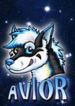 Conbadge for Avior by Psydrache