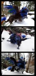 Griffon Art Doll by Psydrache