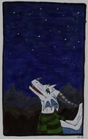 Blick zu den Sternen by Psydrache