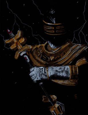 Zeo Gold Ranger by Graymalkin2112